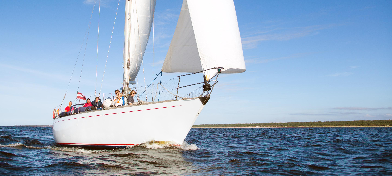 Аренда яхт в Латвии