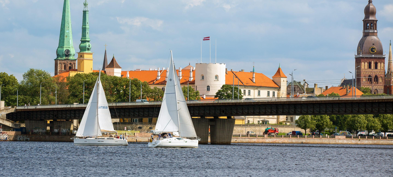 Yacht charter Riga