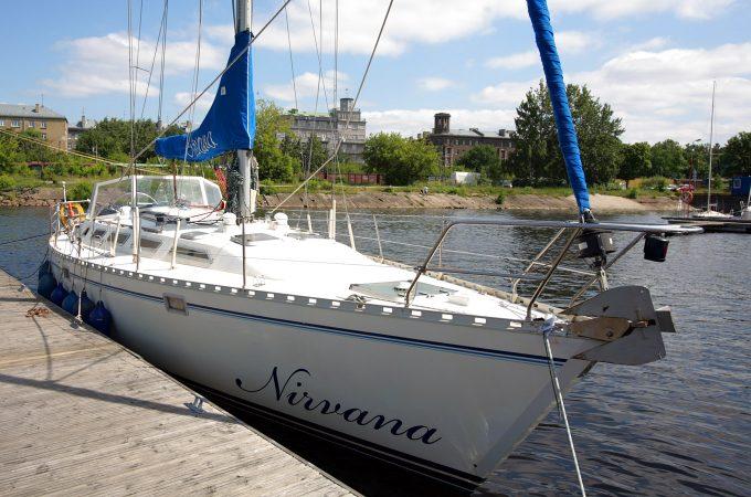 Jahtas Nirvana noma Rīgā